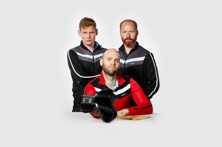Cornermen - image provided by York Theatre Royal