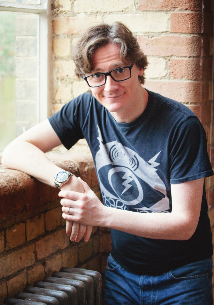 Ed Byrne - photograph credited to Roslyn Gaunt