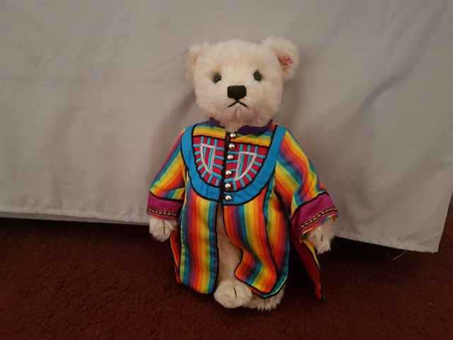 Joseph the singing Steiff bear