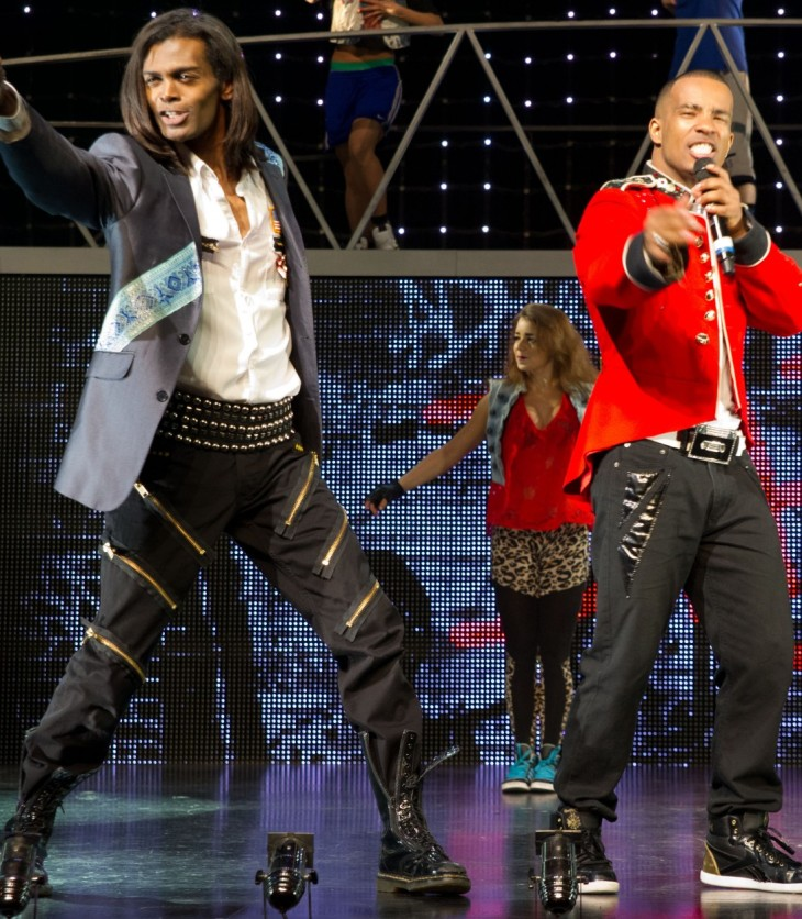 Thriller-Live-Britt-Quentin photograph courtesy of Leeds Grand Theatre